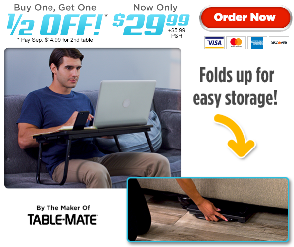 Tech Tray Table by Table-Mate