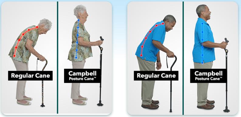Campbell Cane vs Regular Cane