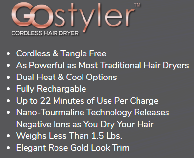 GoStyler Features and Specifications